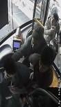 OTOBÜS ŞOFÖRÜ - Otobüs Şoförüne Tekme Tokat Dayak Kamerada