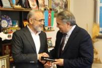 İLHAM ALIYEV - Reis Resulzade'den Topçu'ya ziyaret