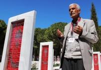 ÖĞRETMEN - Şehit Fethi Sekin'in Babası Çanakkale Şehitliklerini Gezdi