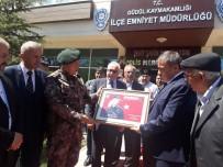 İSMAİL ÖZKAN - Şehit Özel Harekatçının Adı Güdül Polis Merkez Amirliğinde Yaşayacak