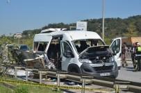 OKAN ÜNIVERSITESI - Servis Minibüsü Patlamasında 'Çanta' Şüphesi