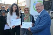 AHMET POYRAZ - TEMEK 'Elde Kurdele İşi Kursu Yıl Sonu Kapanış Sergisi'