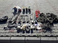 MALZEME DEPOSU - Teröristlere Ait Çok Sayıda Silah Ve Mühimmat Ele Geçirildi