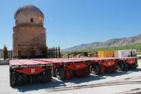 YOL YAPIMI - Zeynel Bey Türbesi 192 Tekerlekli Platformla Taşınacak