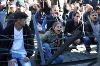 PROTESTO - Belçikalı Vekil PKK İle Kol Kola