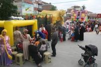 ÇOCUK FESTİVALİ - Bozüyük Belediyesi 23 Nisan 5. Çocuk Festivali Hafta Sonu Şişme Oyun Gurupları İle Devam Edecek