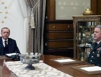 CUMHURBAŞKANLIĞI - Cumhurbaşkanı Erdoğan Hulusi Akar'ı kabul etti