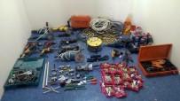 İNŞAAT MALZEMESİ - Depo Hırsızları Tutuklandı