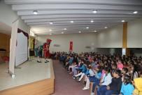 MESUT ÖZAKCAN - Efeler Belediyesi Karagöz Ve Hacivat'ı Öğrencilerle Buluşurdu