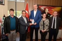 ALI ÖZKAN - Eğitim Kurumlarından Belediyeye Teşekkür Ziyareti