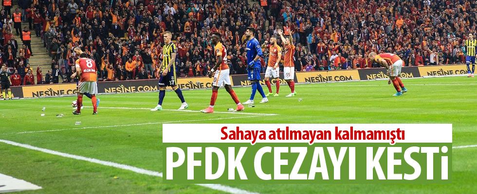 Galatasaray'a PFDK'dan şok