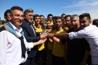 MUSTAFA ASLAN - Harran Üniversitesinde  25.Yıl Futbol Turnuvası Sona Erdi