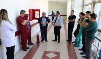 YANGIN TATBİKATI - Hastanede Deprem Yangın Eğitimi Düzenlendi