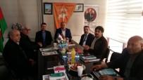 HAYDAR ALİYEV - Haydar Aliyev Lisesi Yöneticilerinden Asimder'e Ziyaret