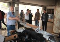 Hırsızlar Et Çaldıkları Lokantayı Ateşe Verdi