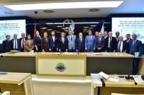 BEYOĞLU BELEDIYESI - İstanbul Boğazı Belediyeler Birliği Üyeleri Sarıyer'de Toplandı