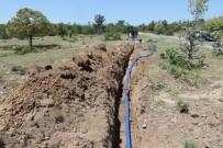 KANALİZASYON - Karaveliler Mahallesinin Su Sıkıntısı Çözülüyor