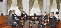Kırgız Rektörden, Rektör Şahin'e Ziyaret