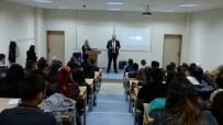 YOL DURUMU - Kuyucak MYO'da Zirve Söyleşilerinin İlki Gerçekleşti