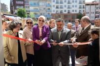 KEMAL ÖZGÜN - Renklerin Ahşap Boyama Sergisi Açıldı