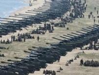UÇAK GEMİSİ - Savaş çanları! Yüzlerce tank sınıra dizildi