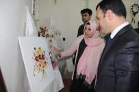 MUHAMMET FUAT TÜRKMAN - Şemdinli'de El Sanatları Sergisi