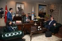 KOLOMBIYA - Şili, Mersin Serbest Bölgesi'nden Bir Depo Satın Almak İstiyor