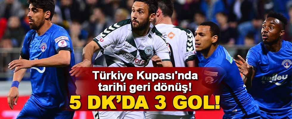 Ziraat Türkiye Kupası'nda tarihi geri dönüş!