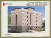 ÜMRANİYE BELEDİYESİ - Ümraniye Belediyesi İlçeye Bir Okul Daha Kazandırıyor