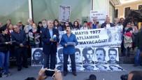 ÖZGÜRLÜK - 1 Mayıs 1977'De Hayatını Kaybedenler Kazancı Yokuşunda Anıldı