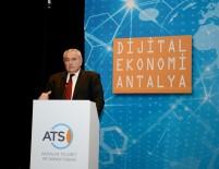 CEP TELEFONU - ATSO'nun 'Dijital Ekonomi Antalya' Etkinliği Büyük İlgi Çekti