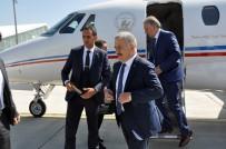 SELAHATTIN BEYRIBEY - Bakan Arslan, 'Bakü-Tiflis-Kars Demiryolu Hattı Haziranda Hizmete Girecek'