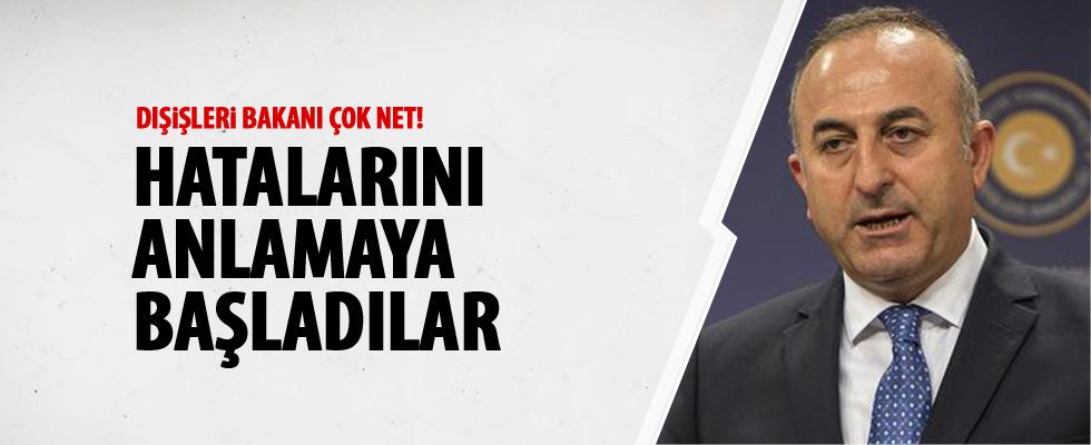 Bakan Çavuşoğlu'ndan AB açıklaması