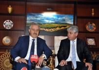 KAFKAS ÜNİVERSİTESİ - 'Bakü-Tiflis-Kars Demiryolu Hattı Haziranda Hizmete Girecek'