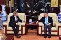 ÇIN HALK CUMHURIYETI - Başkan Demircan, Çin Başkonsolosu Qian Bo'yu Ziyaret Etti