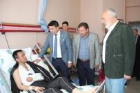 SALDıRı - Başkan Vekili Doğan, Yaralı Askeri Ziyaret Etti