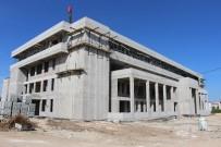 ADALET BAKANLıĞı - Başsavcısı Yavuz Kırklareli Yeni Adliye Sarayı İnşaatında İncelemelerde Bulundu