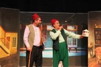 ŞEHİR TİYATROSU - 'Bizim Konak' Oyunu Tiyatro Severlerle Buluştu