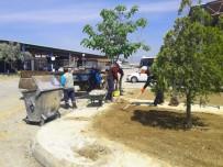 ÇAY BAHÇESİ - Daha Yeşil Bir Alaşehir İçin Çalışıyorlar