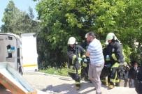 PAMUKKALE ÜNIVERSITESI - Denizli'de Yangın Açıklaması 1 Ölü
