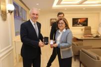 Kamil Saraçoğlu, Başkan Fatma Şahin'in Konuğu Oldu