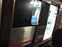 TREN SEFERLERİ - Marmaray'da teknik arıza seferleri aksattı