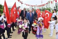 23 NİSAN ULUSAL EGEMENLİK VE ÇOCUK BAYRAMI - Mersin'de 23 Nisan 5 Gün Gecikmeli Kutlandı