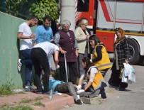 Özel halk otobüsünün freni patladı: Yaralılar var