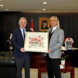 YETKINLIK - Rektör Elmas Samsun'da Kalite Toplantısı'na Katıldı