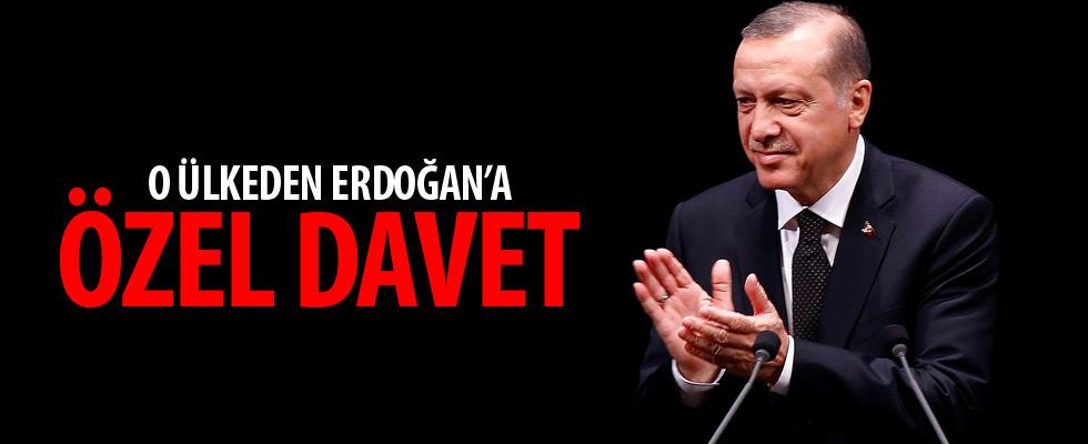 Cumhurbaşkanı Erdoğan'a özel davet