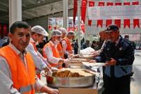 TERÖR MAĞDURLARI - Sungurlu Belediyesi'nden Şehitler İçin Yemek
