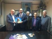 EĞİTİM DERNEĞİ - Van Ahlat Kültür Ve Eğitim Derneği'nden Başkan Berge'ye Ziyaret