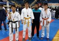 BALABAN - Yıldırımlı Karateciler Madalyaları Topladı
