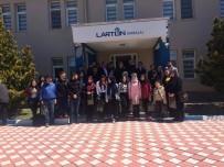 GENÇ GİRİŞİMCİLER - Yüksek Okul Öğrencileri Fabrikaları Gezdi